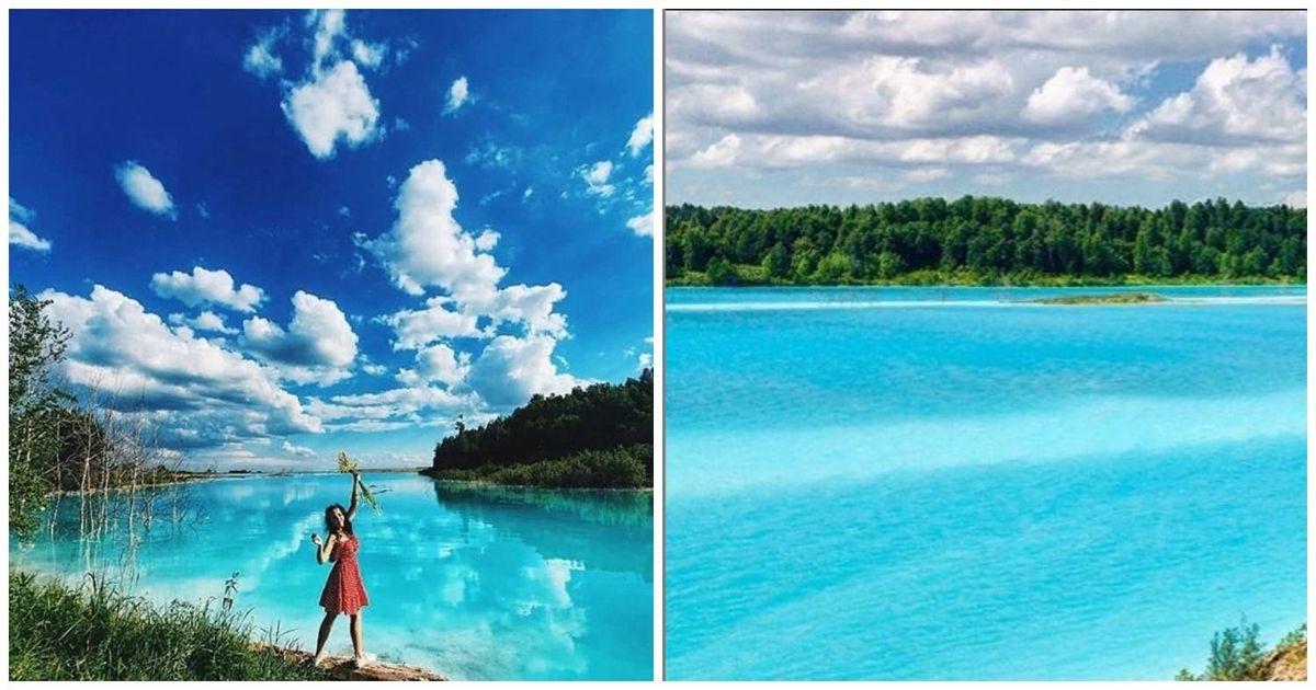 Фото Токсичное озеро. Как сибиряки рискуют жизнью ради красивых фотографий