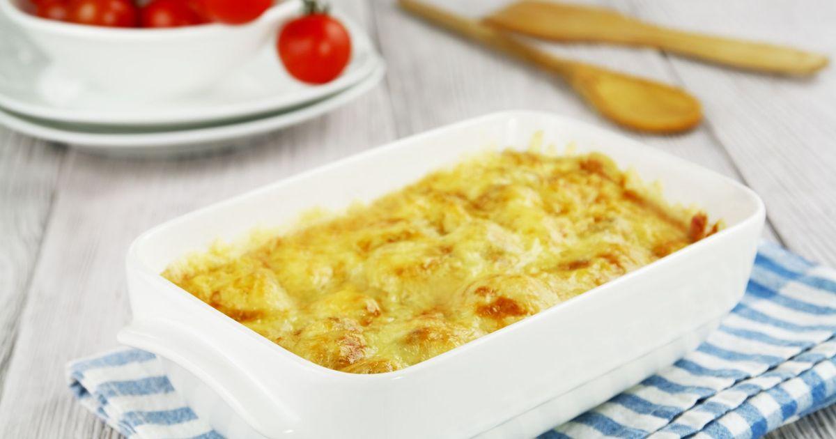 Фото Запеканка из кабачков и сыра