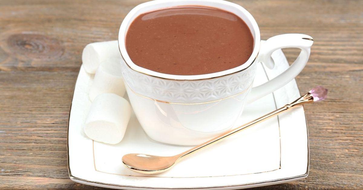 Фото Горячий имбирный шоколад