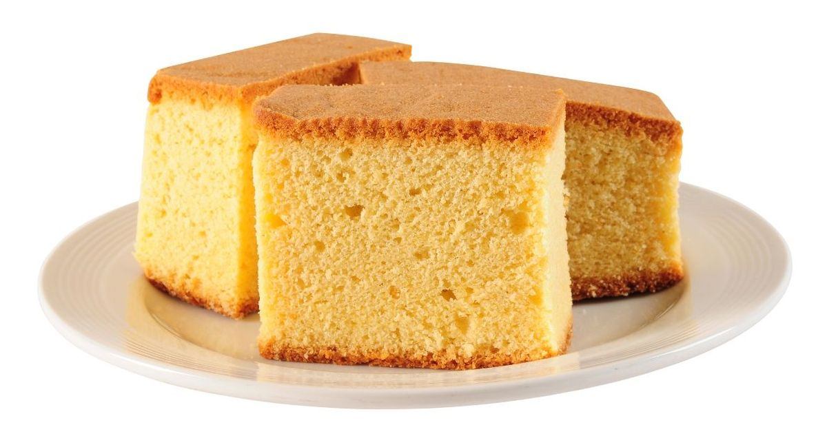 Фото Удачный бисквит на горячем молоке