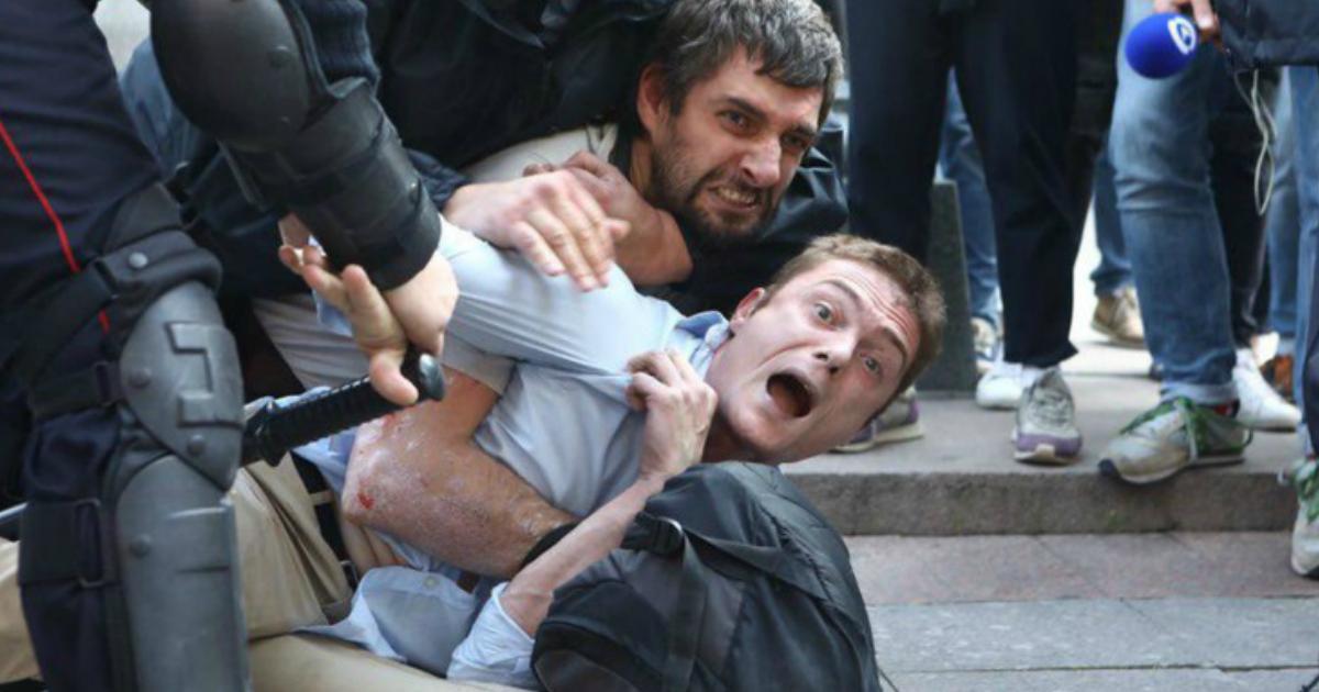 Фото Московский метрополитен подал иск к организаторам митингов