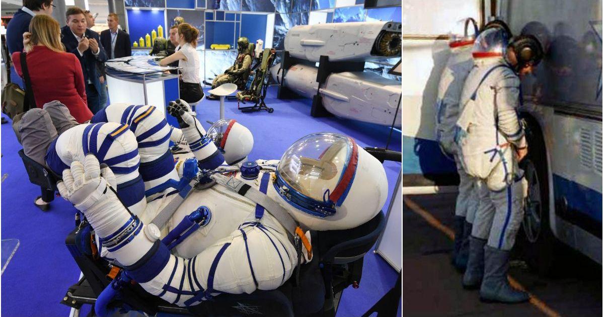 Фото Космонавты больше не смогут мочиться на колеса перед запуском