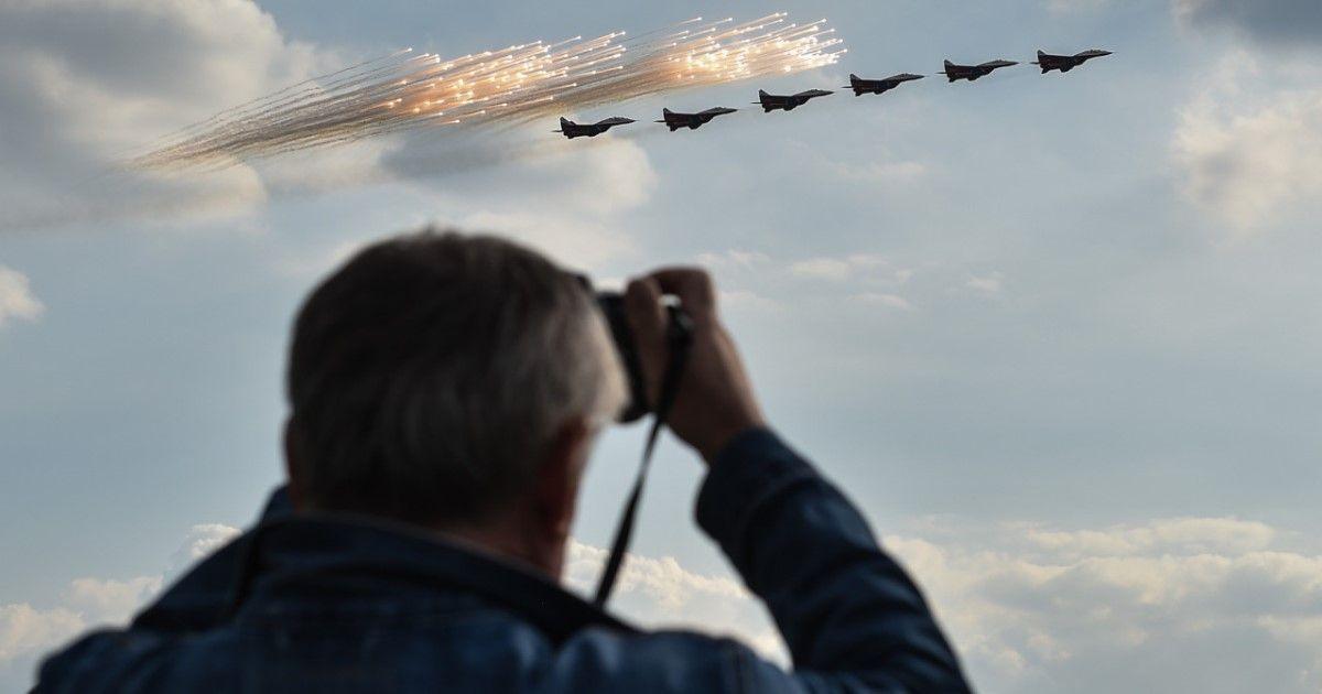 Фото Русские асы и «гвоздь программы». Что показали на МАКСе (20 ФОТО)