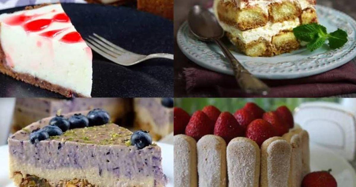Фото 10 самых вкусных тортиков без выпечки