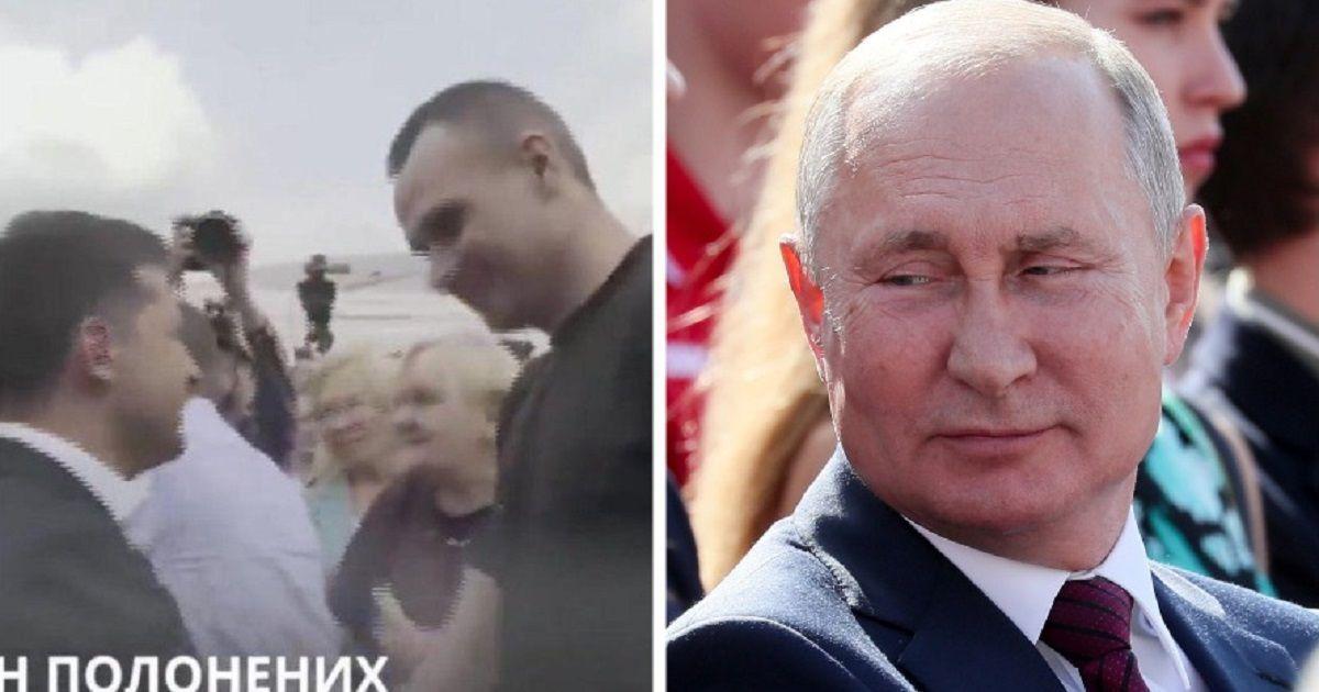 Фото Песков объяснил, почему Путин не встретил россиян, возвращенных Украиной