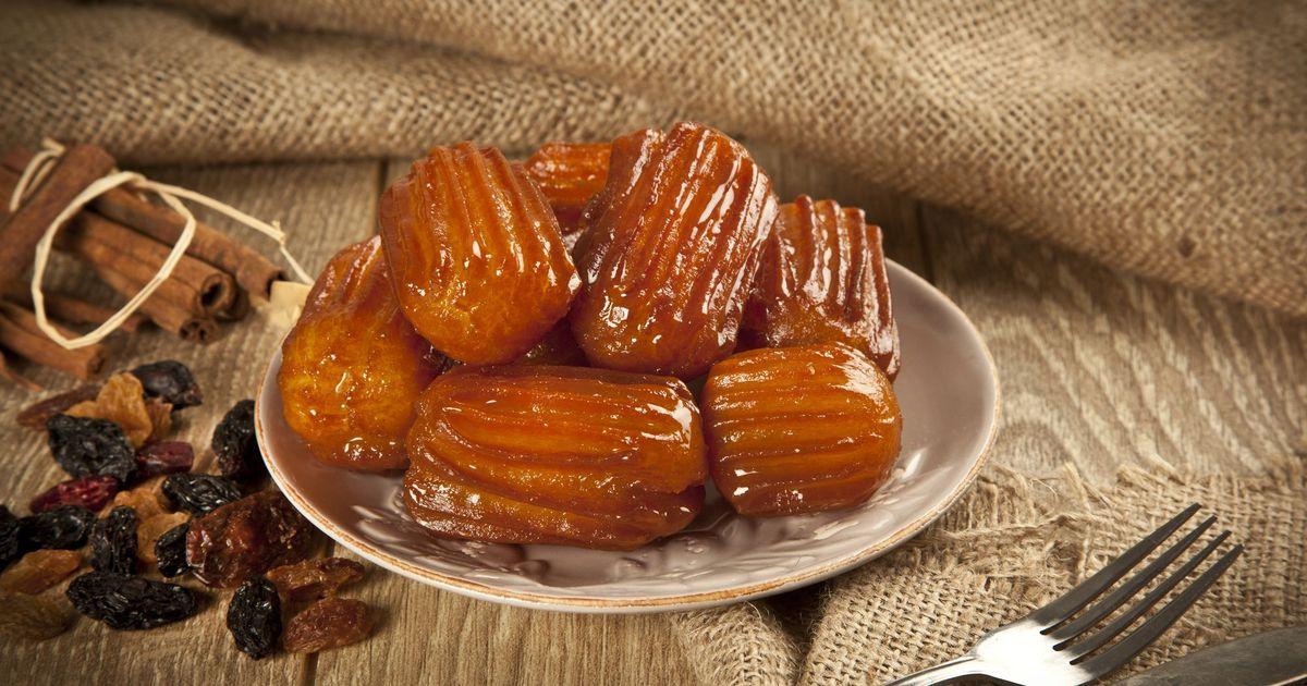 Фото Традиционный турецкий десерт
