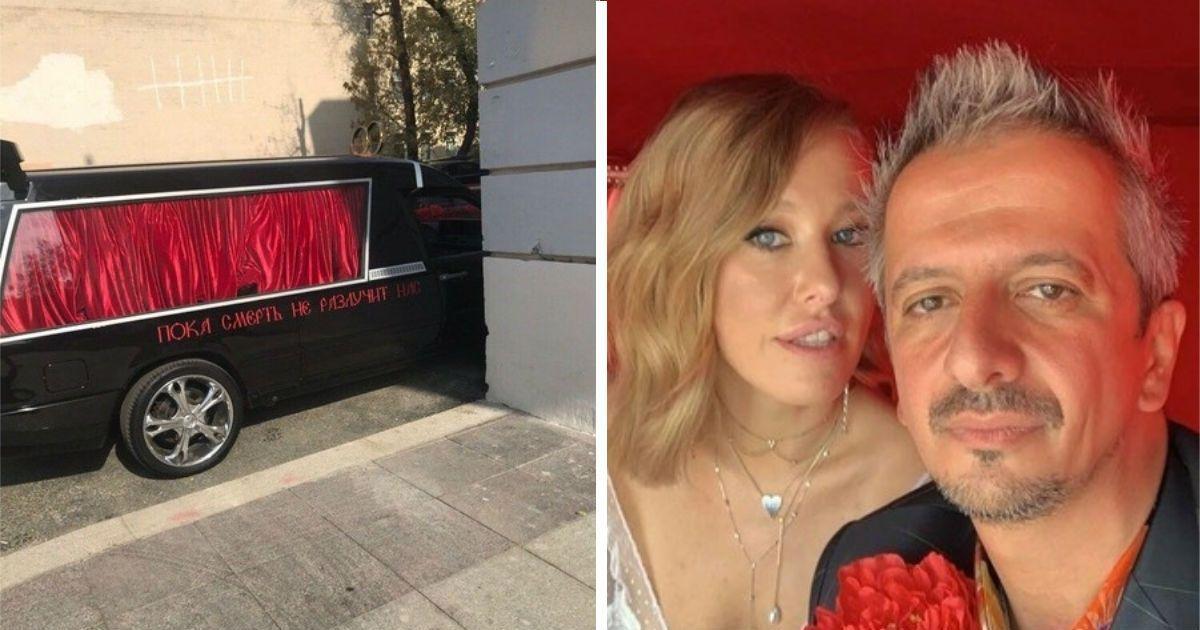 Фото Торжество эпатажа: как Собчак вышла замуж за Богомолова