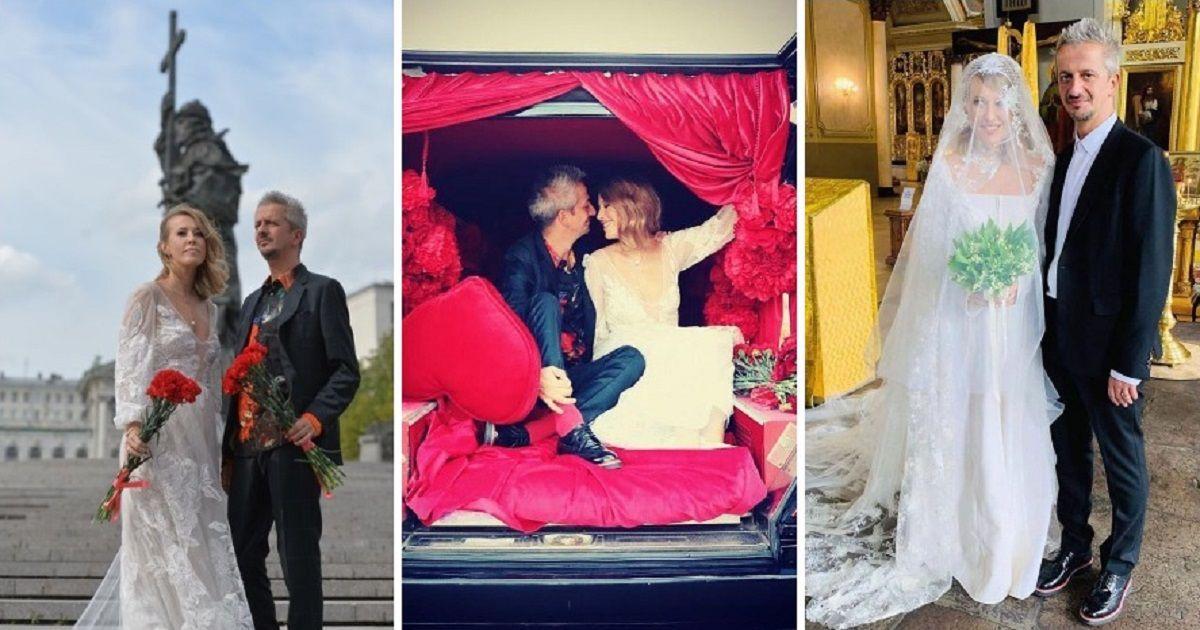 Фото Богомолов ответил на критику свадьбы с Собчак