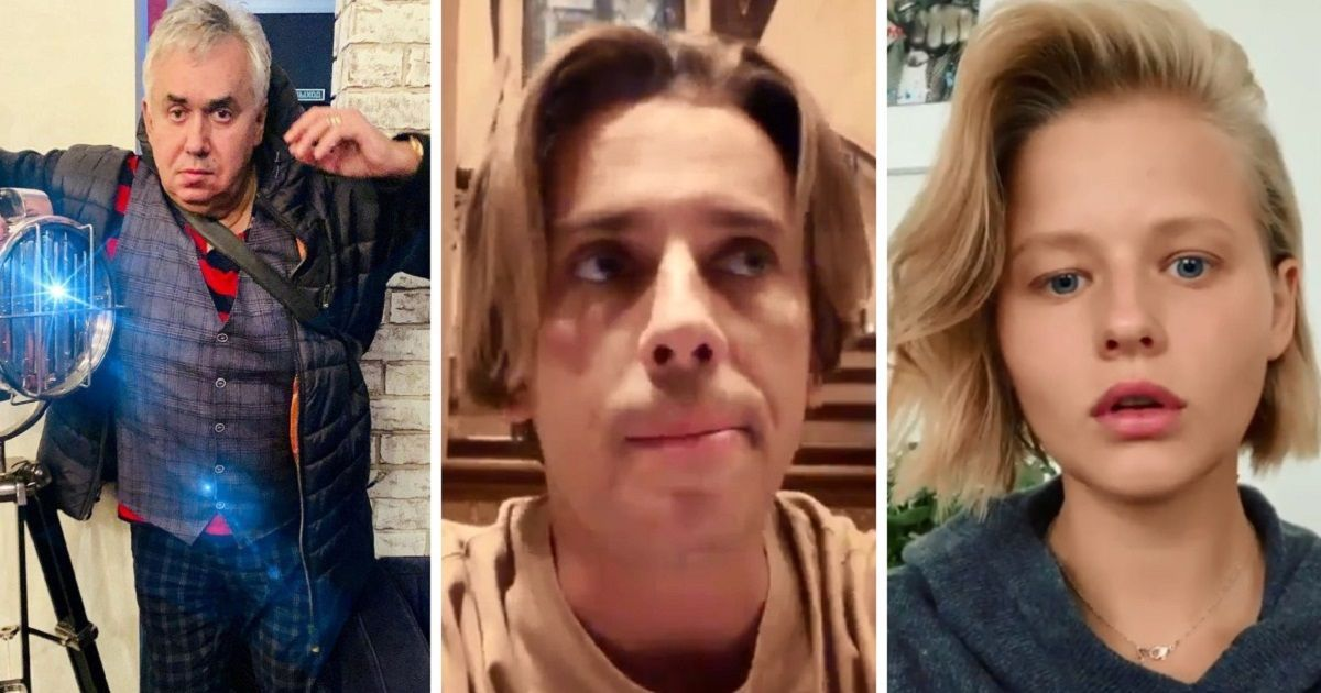 Фото Галкин записал видео в защиту Устинова. Садальский: «Все актёры - бздуны».