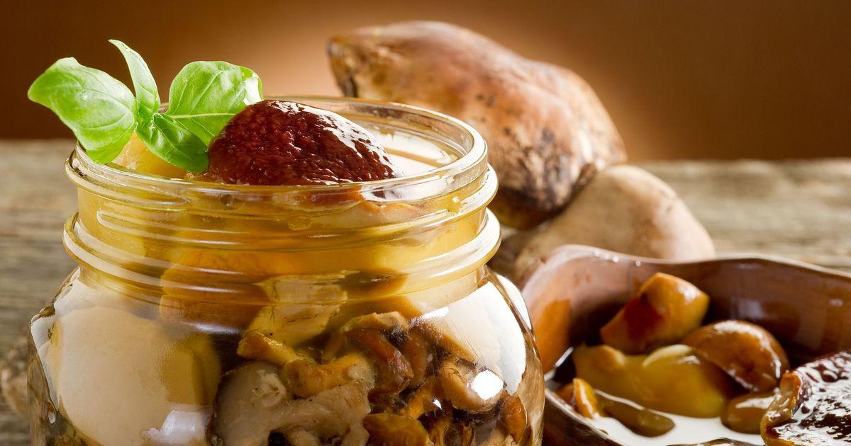 Фото Маринованные грибы
