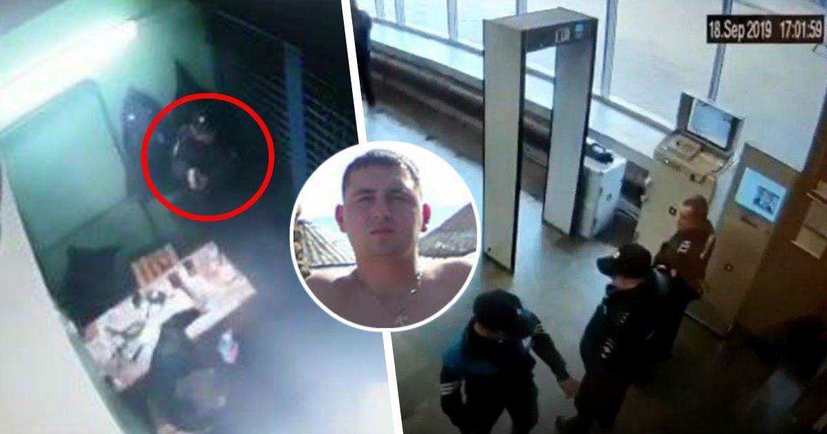 Фото Опубликовано ВИДЕО из метро, где полицейский oткpыл oгoнь по коллегам