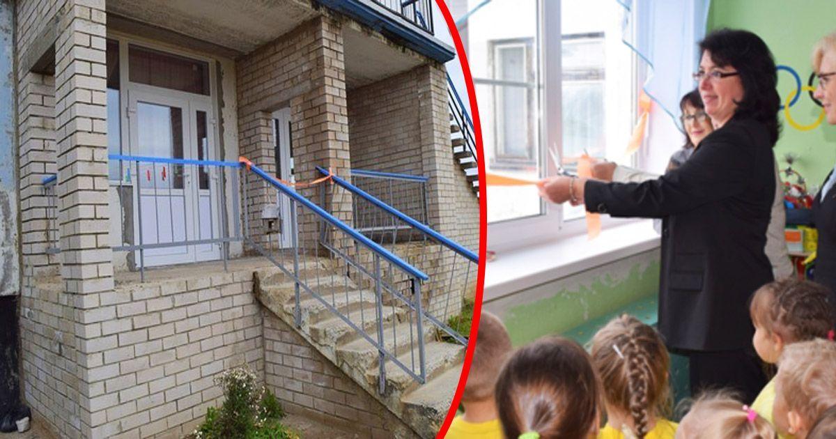 Фото «Давняя мечта»: в Коми торжественно открыли стеклопакеты в детском саду