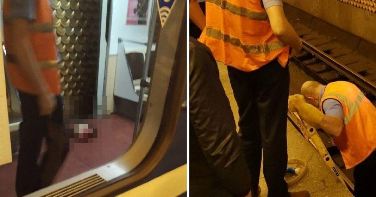 Фото «Обещал вернуться». В Петербурге студент бросился под поезд метро