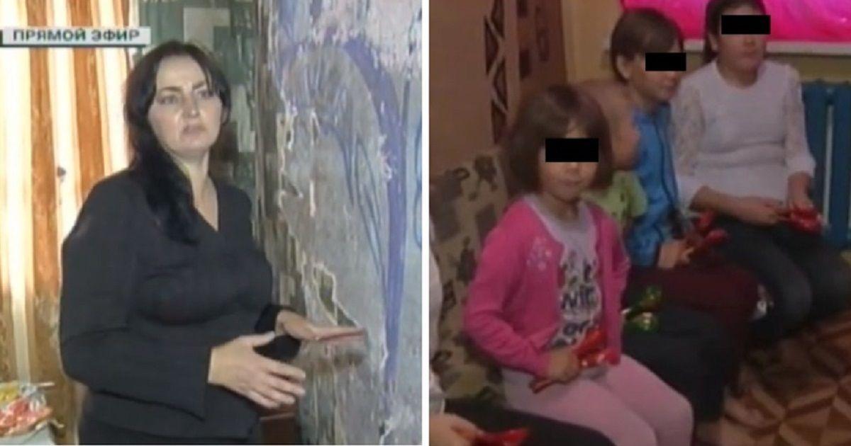 Фото На Урале у матери забрали пятерых детей, пока она была в больнице