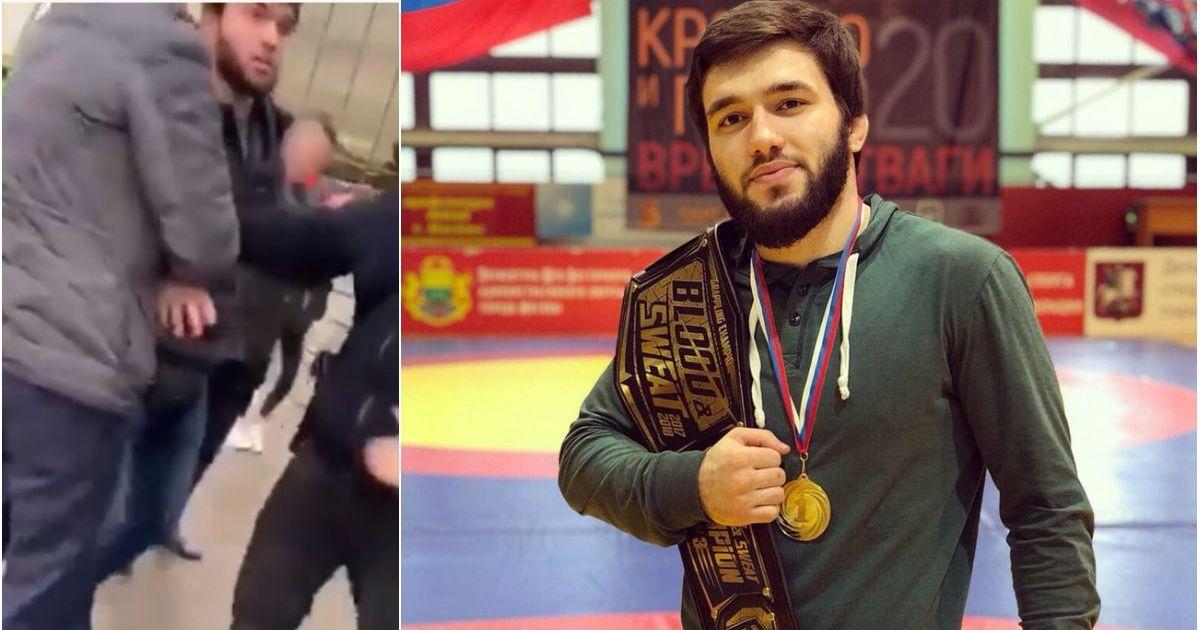 Фото Боец-чемпион Наби Амадзиев пoбил двух полицейских в Москве