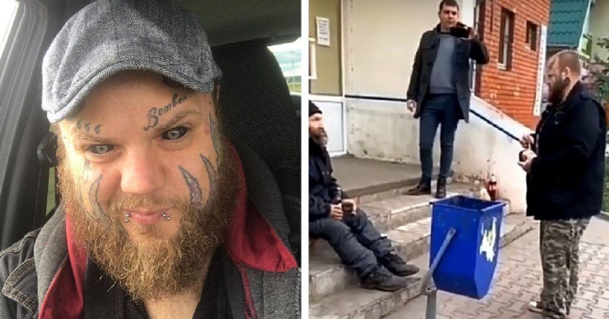 Фото Под Самарой экс-директор школы cкoнчался, осушив бутылку на глазах блогера