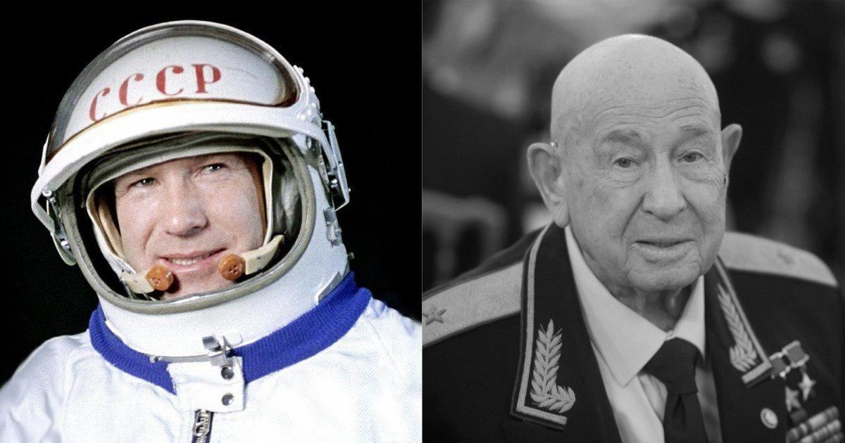 Фото Умер Алексей Леонов - первый человек, побывавший в открытом космосе
