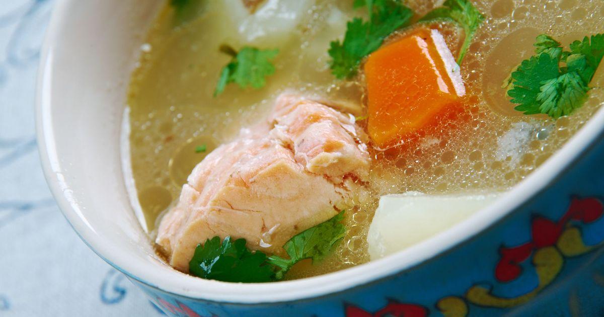 Фото Узбекский рыбный суп