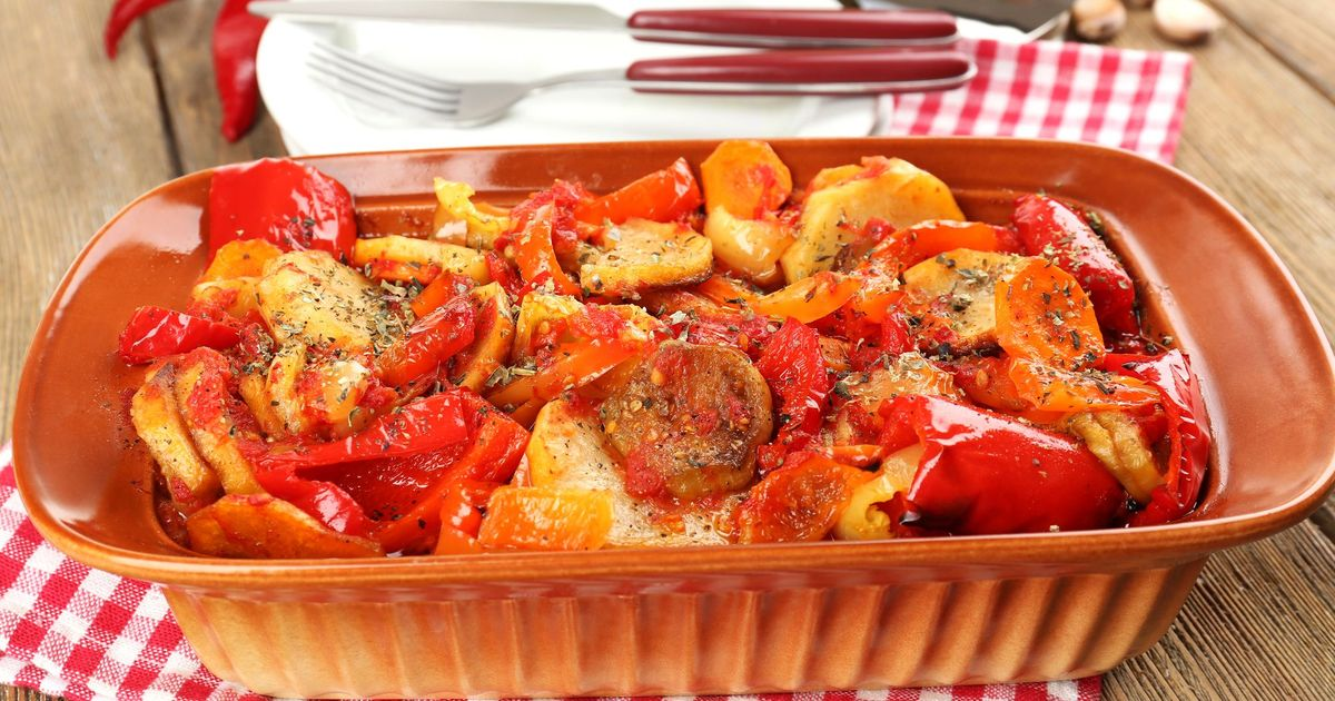Фото Запеченное овощное рагу