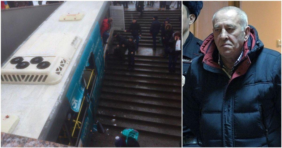 Фото Водитель автобуса, въехавший в московский переход, отпущен на свободу