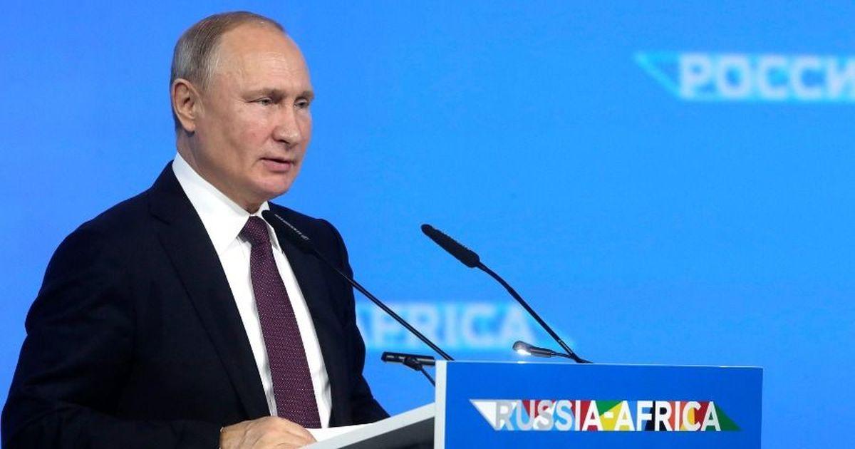 Фото Путин: Россия списала Африке долги на 20 миллиардов долларов