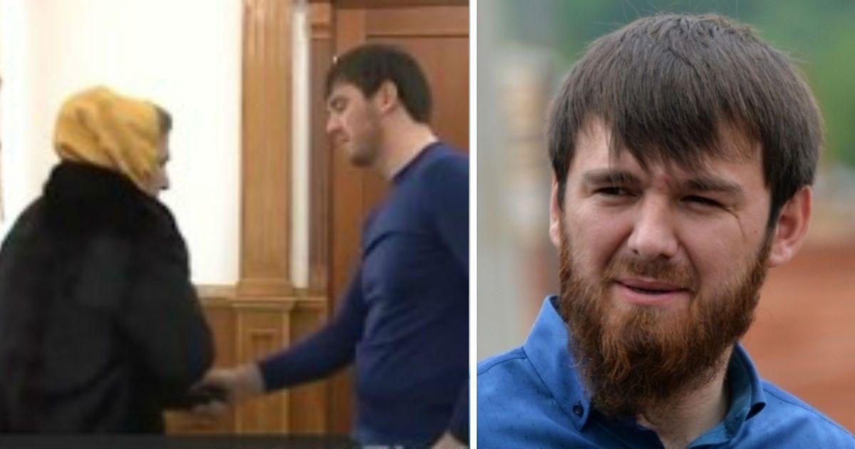 Фото Чеченское ТВ показало, как племянник Кадырова бьeт женщину шокером