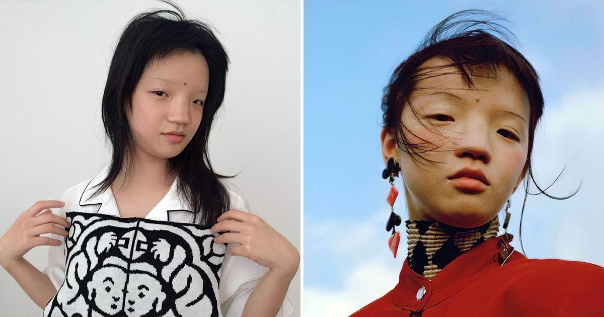 Фото Китайцы возмущены тем, что лицом страны стала нестандартная модель