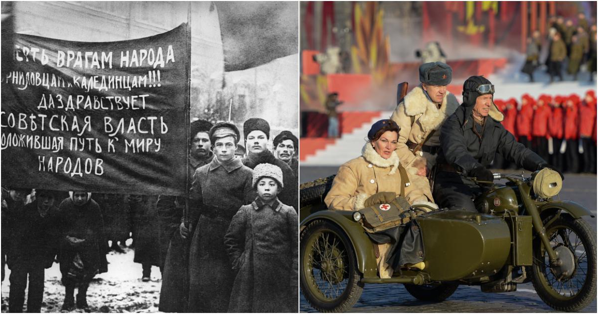 Фото Какой праздник 7 ноября? Октябрьская революция и парад 7 ноября 1941 года