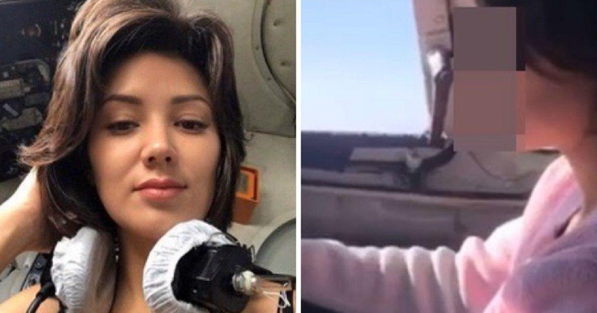 Фото На пилота, давшего порулить самолетом