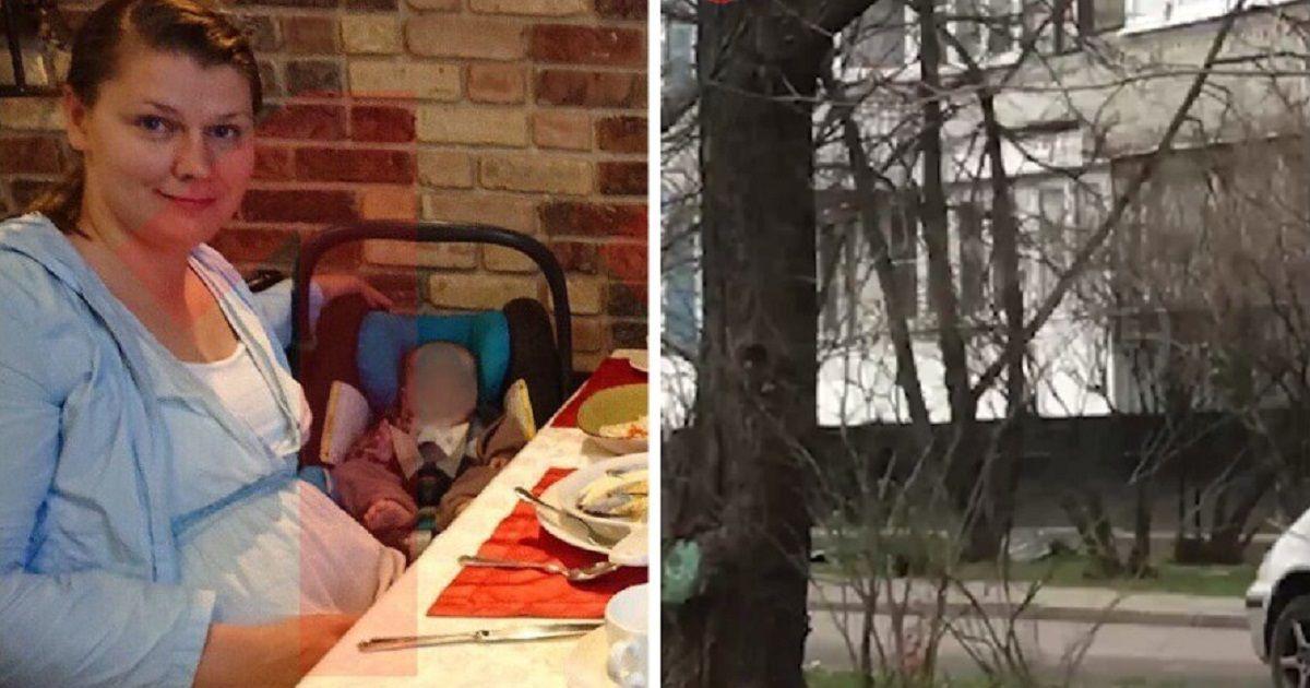 Фото 36-летняя москвичка выпала из окна с двумя детьми