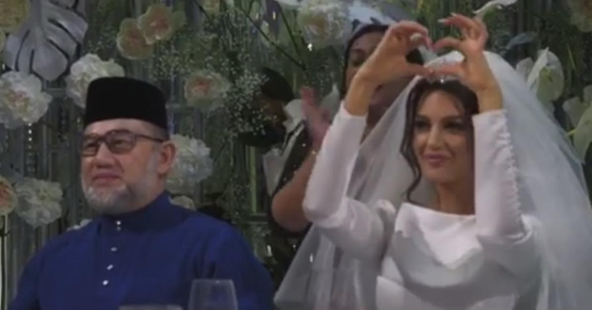 Фото Появилось видео московской свадьбы экс-короля Малайзии и русской модели