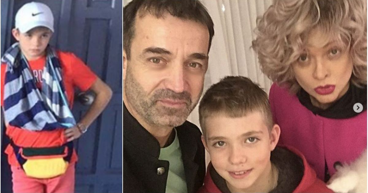 Фото 12-летний сын Певцова в ярости сломал руку об стену