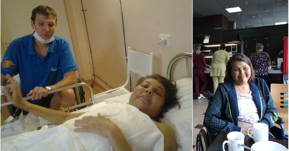 Фото Сын настоял на операции и отдал половину печени маме