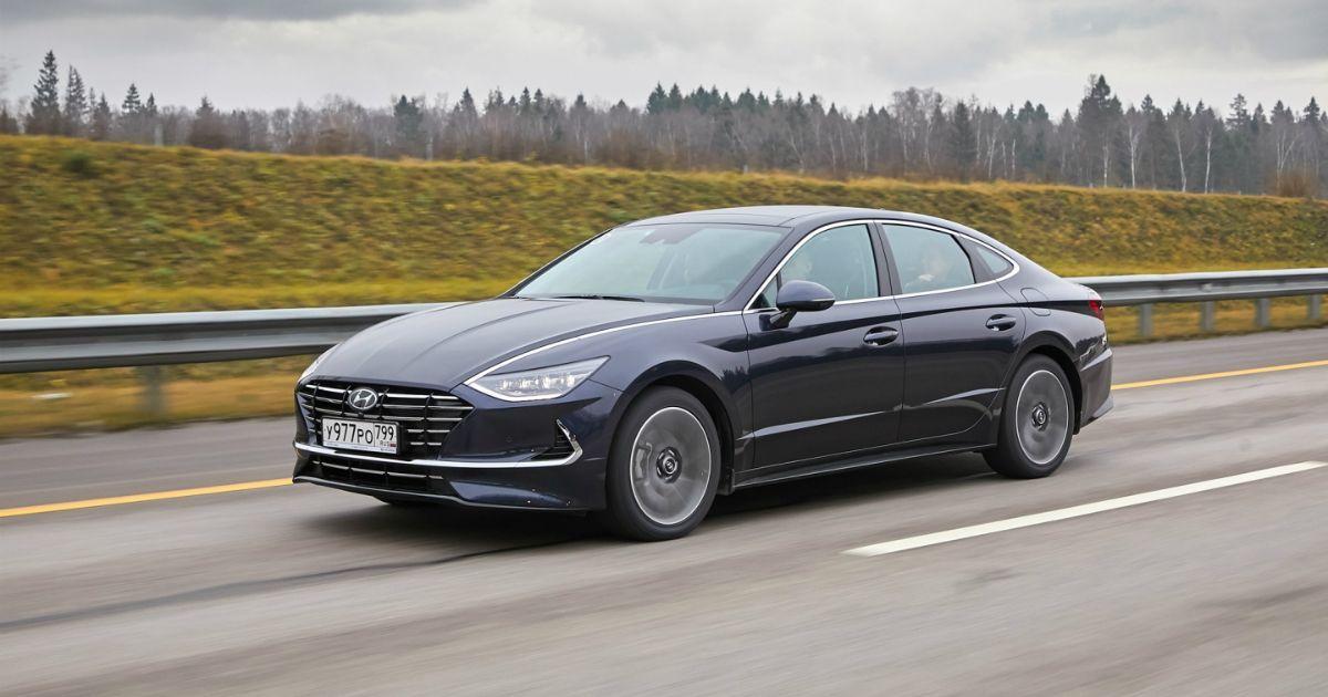 Фото Hyundai представила восьмое поколение модели Sonata