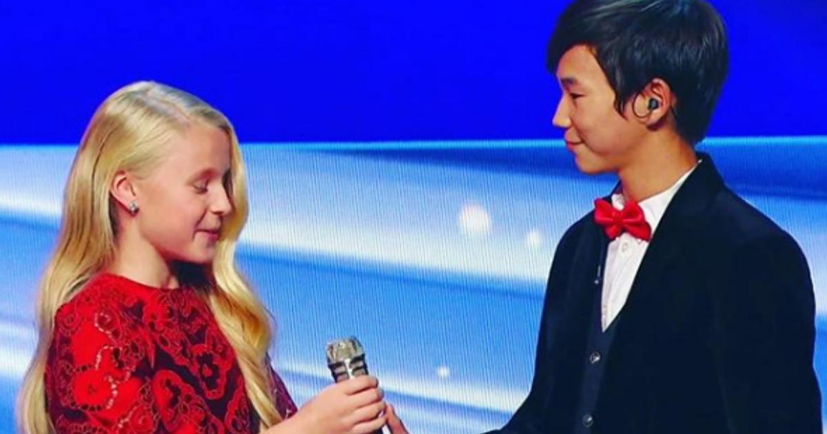 Фото 13-летнему представителю России на «Евровидение» стало плохо на сцене