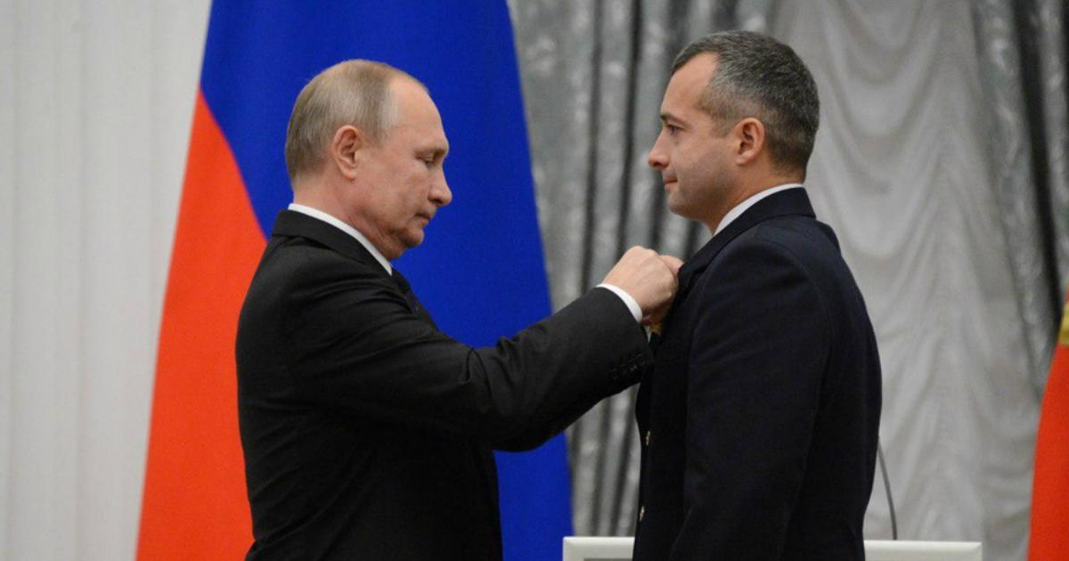 Фото Путин вручил высшую награду совершившим