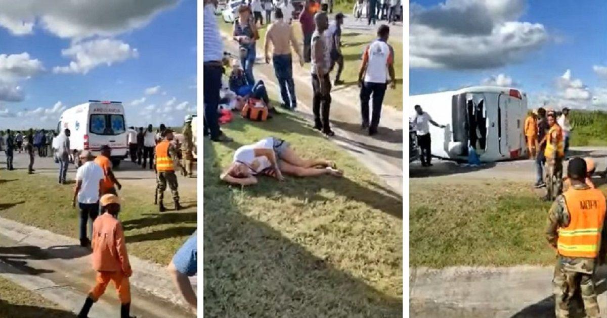 Фото Авария с русскими туристами в Доминикане: 12-летняя девочка лишилась рук