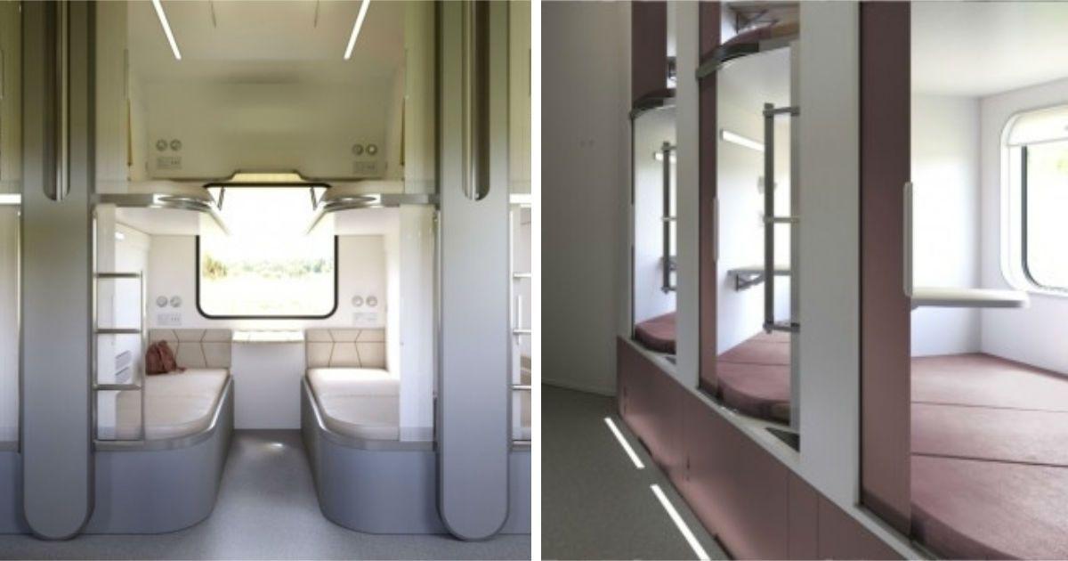 Фото «Дочка» РЖД показала, какими будут новые плацкартные вагоны (ФОТО)