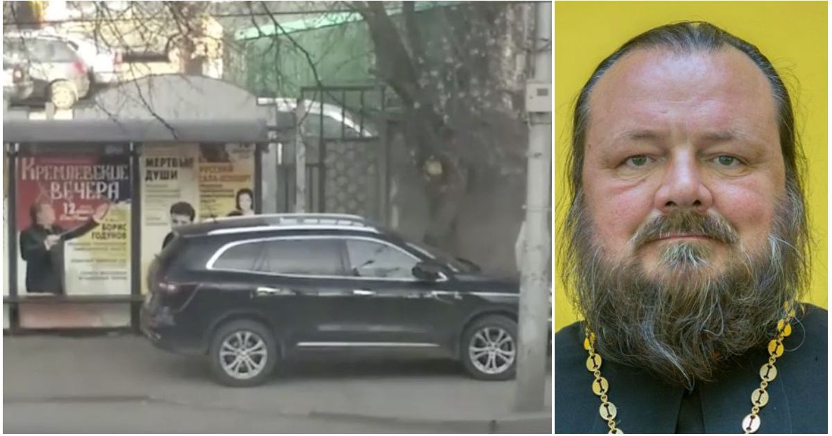 Фото Не стало рязанского священника, которого отстранили за парковку на остановке