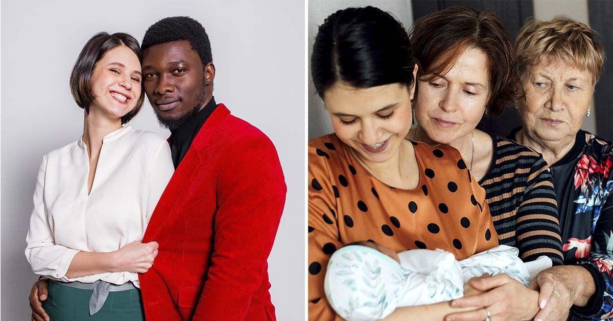 Фото Наталья и Джейкоб: как выглядят дети россиянки из Ижевска и нигерийца?