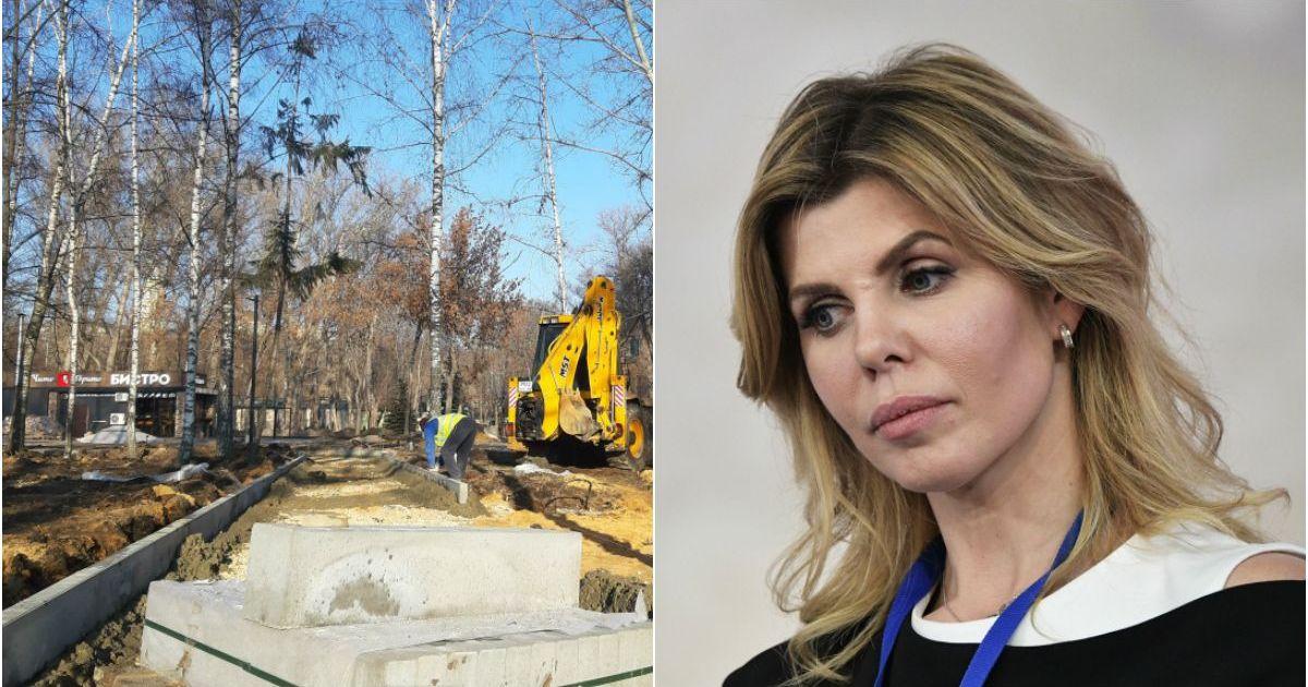 Фото «Это п****ц»: мэр Липецка отругала коллег во время строительства парка