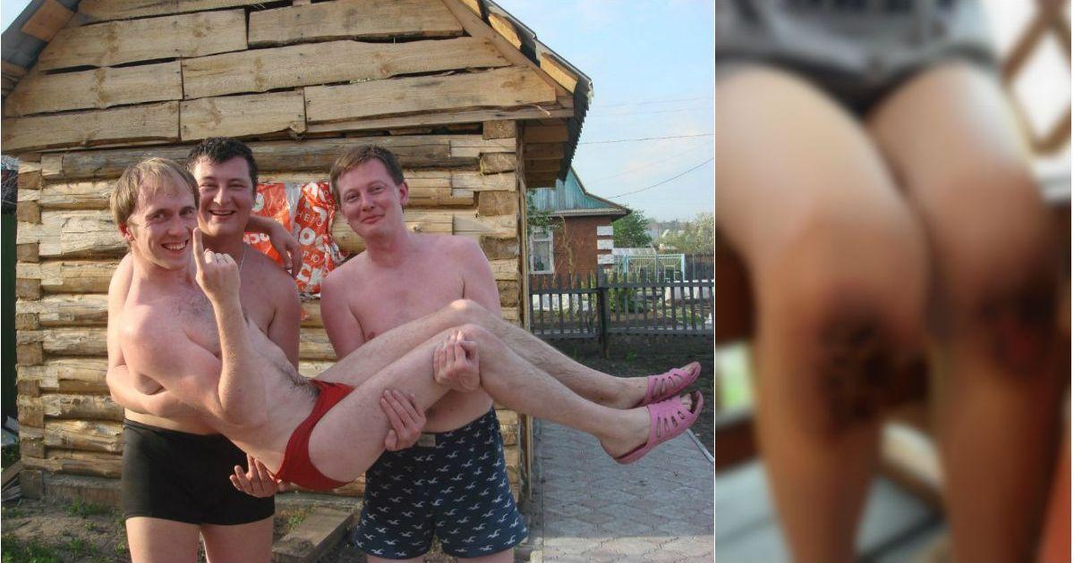 Фото В Сети появились фото отчима, который заставил 9-летнего ребенка стоять на гречке