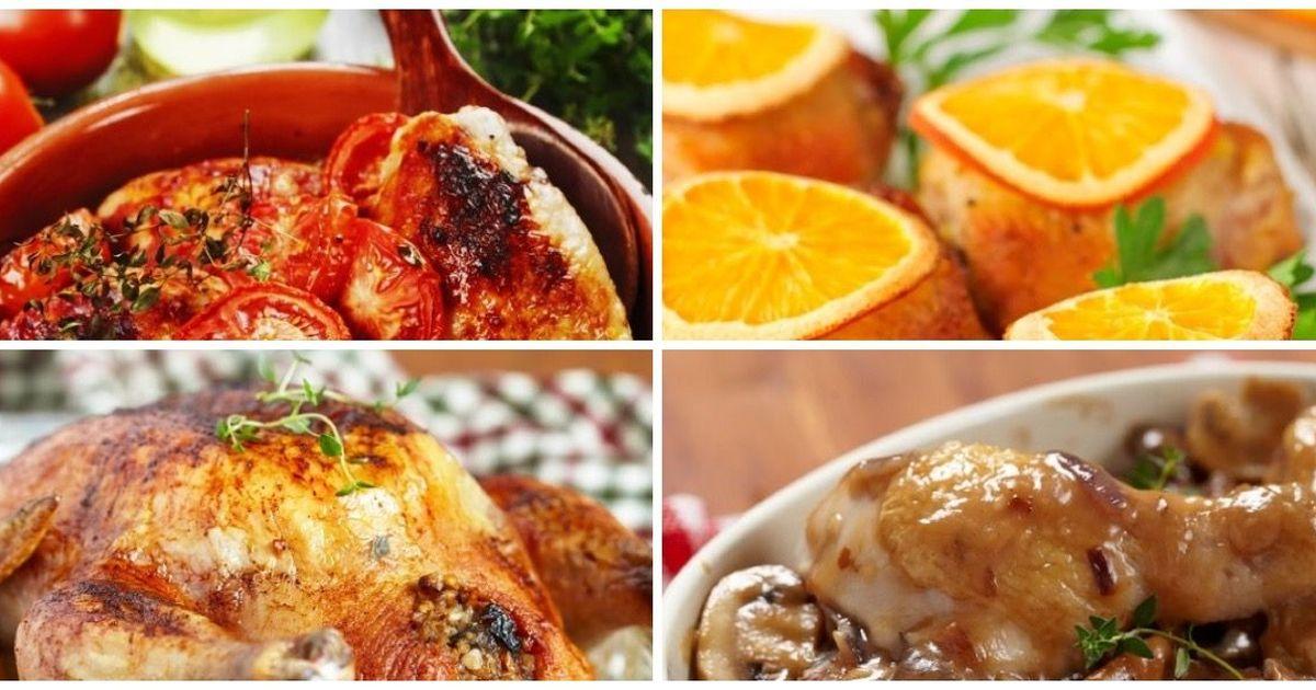 Фото Подборка блюд из курицы к новогоднему столу