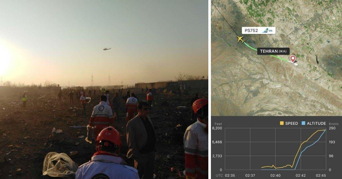 Фото Крушение украинского «Боинга»: иранские власти ответили на версию о ракете
