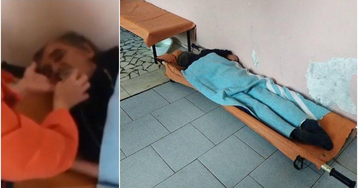 Фото Врачи три дня игнорировали пациента в коридоре