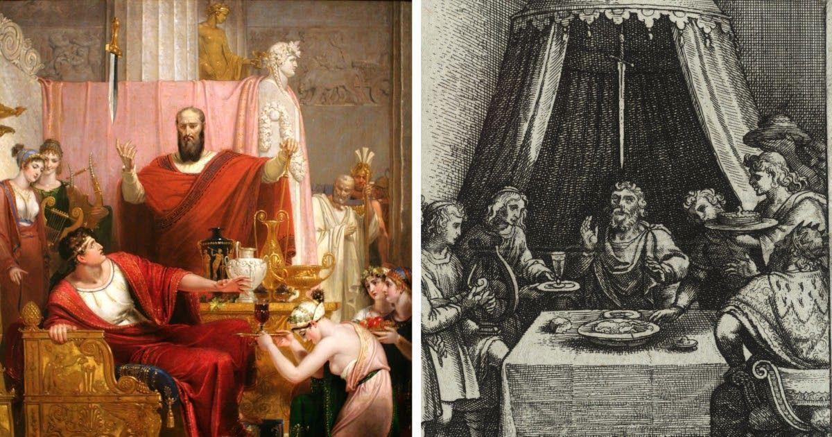 Фото Дамоклов меч - значение и происхождение выражения. Легенда о Дамокле