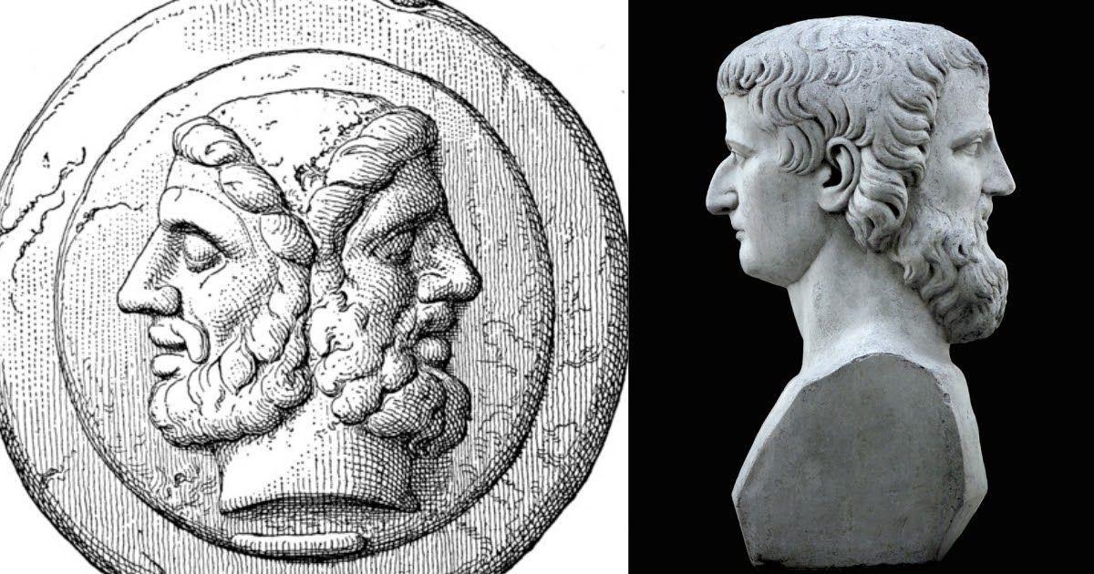 Фото Двуликий Янус - значение и происхождение. Кем был бог Янус?