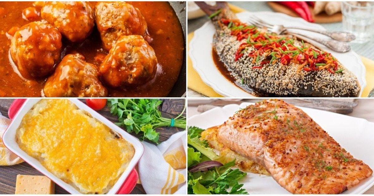 Фото Подборка рыбных блюд на каждый день