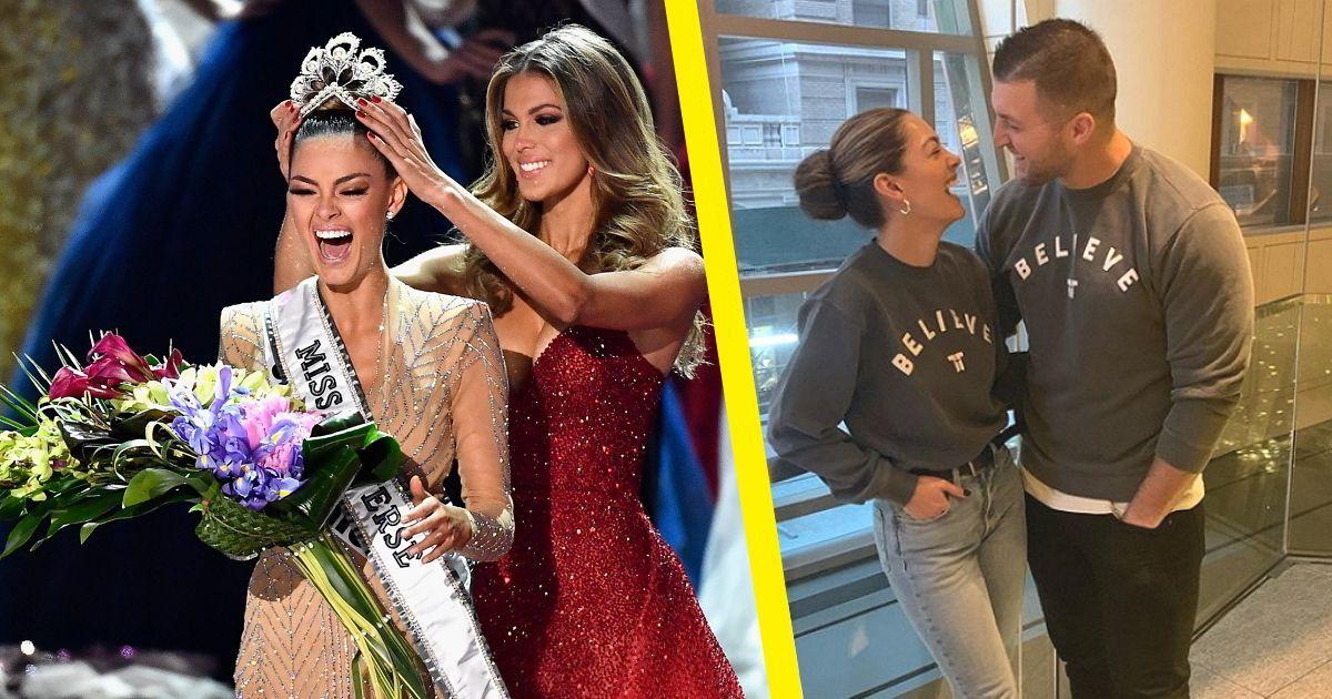 Фото «Мисс Вселенная-2017» вышла замуж за 32-летнего спортсмена-девственника
