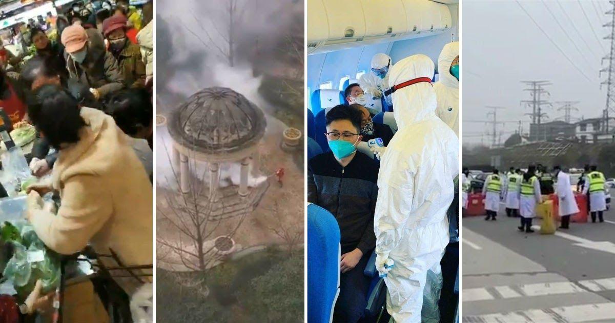 Фото Русские рассказали, что происходит в закрытом из-за коронавируса Ухане